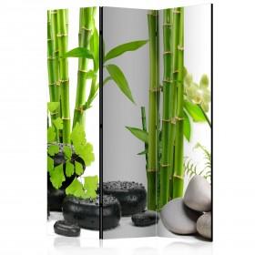 Kamerscherm - Bamboos and Stones