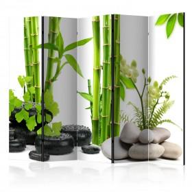 Kamerscherm - Bamboos and Stones II