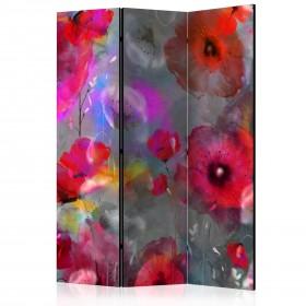 Kamerscherm - Painted Poppies