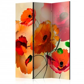 Kamerscherm - Velvet Poppies