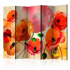 Kamerscherm - Velvet Poppies II