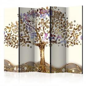 Kamerscherm - Golden Tree II