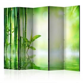 Kamerscherm - Green Bamboo II