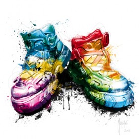 Plexiglas schilderij My Shoes