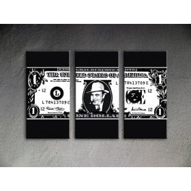 Popart schilderij Al Capone