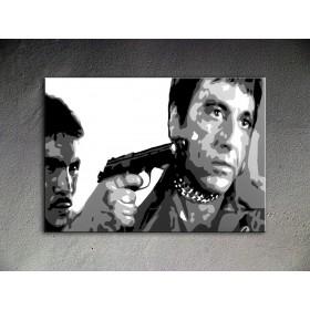 Popart schilderij Al Pacino 12