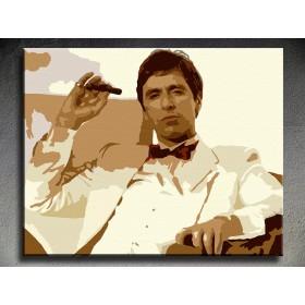 Popart schilderij Al Pacino 1 delig