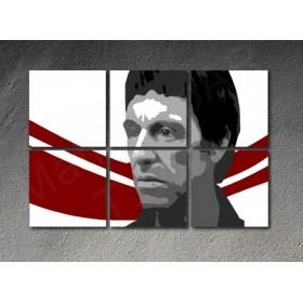 Popart schilderij Al Pacino 6 delig