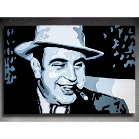 Popart schilderij Al Capone 2