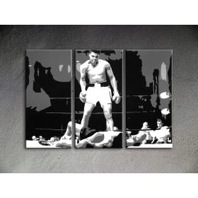 Popart schilderij Muhammad Ali 3