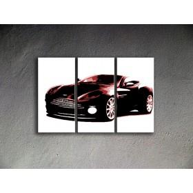 Popart schilderij Aston Martin