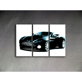 Popart schilderij Aston Martin 1