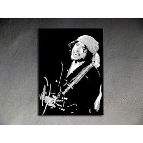 Popart schilderij Bob Dylan