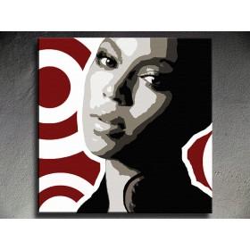 Popart schilderij Beyonce 1