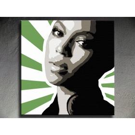 Popart schilderij Beyonce 2