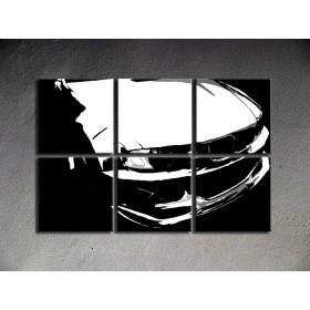 Popart schilderij BMW M3