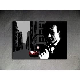 Popart schilderij James Bond 4