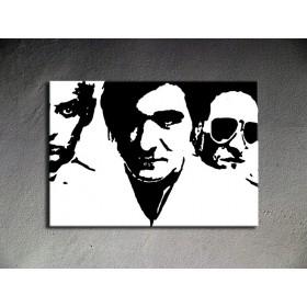 Popart schilderij Die Ärzte