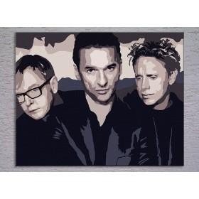 Popart schilderij Depeche Mode 3