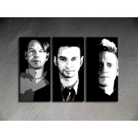 Popart schilderij Depeche Mode 1