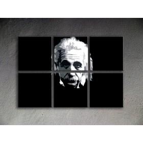 Popart schilderij Albert Einstein