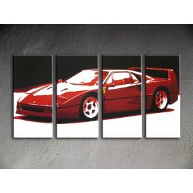 Popart schilderij Ferrari F40