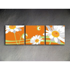 Popart schilderij Flower 2