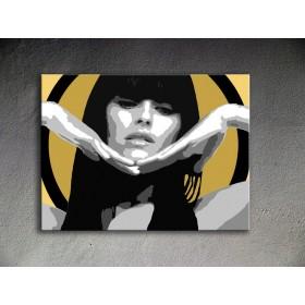 Popart schilderij Nelly Furtado
