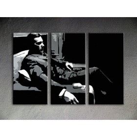 Popart schilderij Godfather 3 delig 5