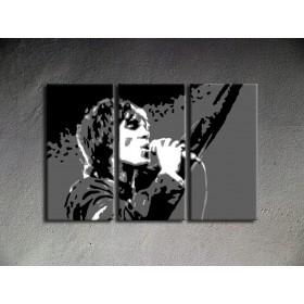 Popart schilderij Ian Brown 2