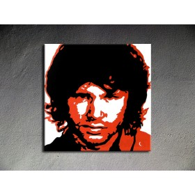 Popart schilderij Jim Morrison 2