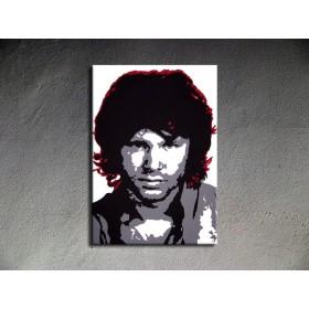 Popart schilderij Jim Morrison 1