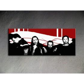 Popart schilderij Metallica 1 delig