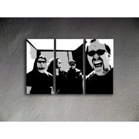 Popart schilderij Metallica 2