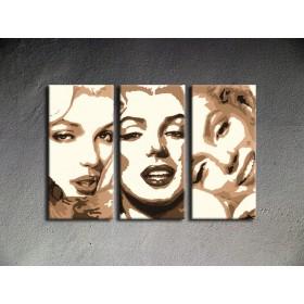 Popart schilderij Marilyn Monroe 2