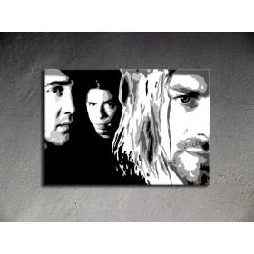 Popart schilderij Nirvana