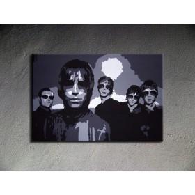 Popart schilderij Oasis