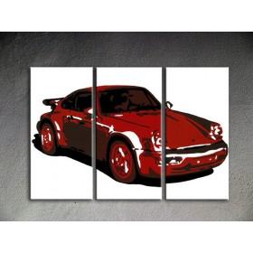 Popart schilderij Porsche 911 2
