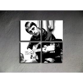 Popart schilderij Paul Weller