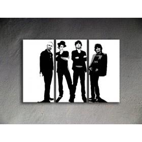 Popart schilderij The Rolling Stones