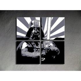 Popart schilderij Star Wars 2