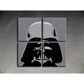 Popart schilderij Star Wars 1