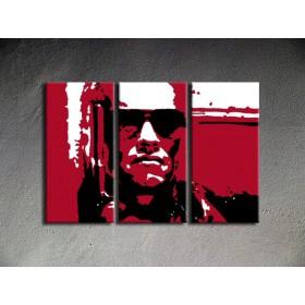 Popart schilderij Terminator 3 delig 2