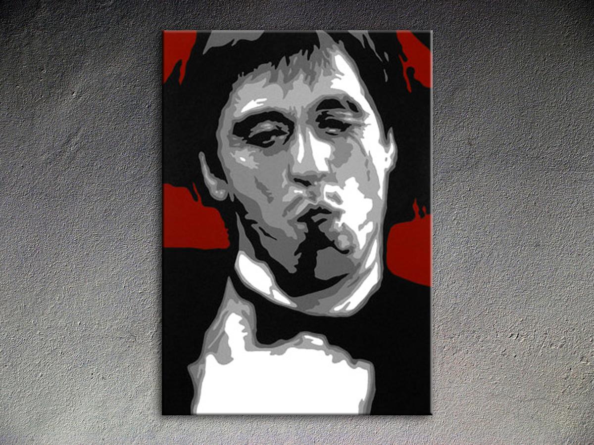 Popart schilderij Al Pacino 5