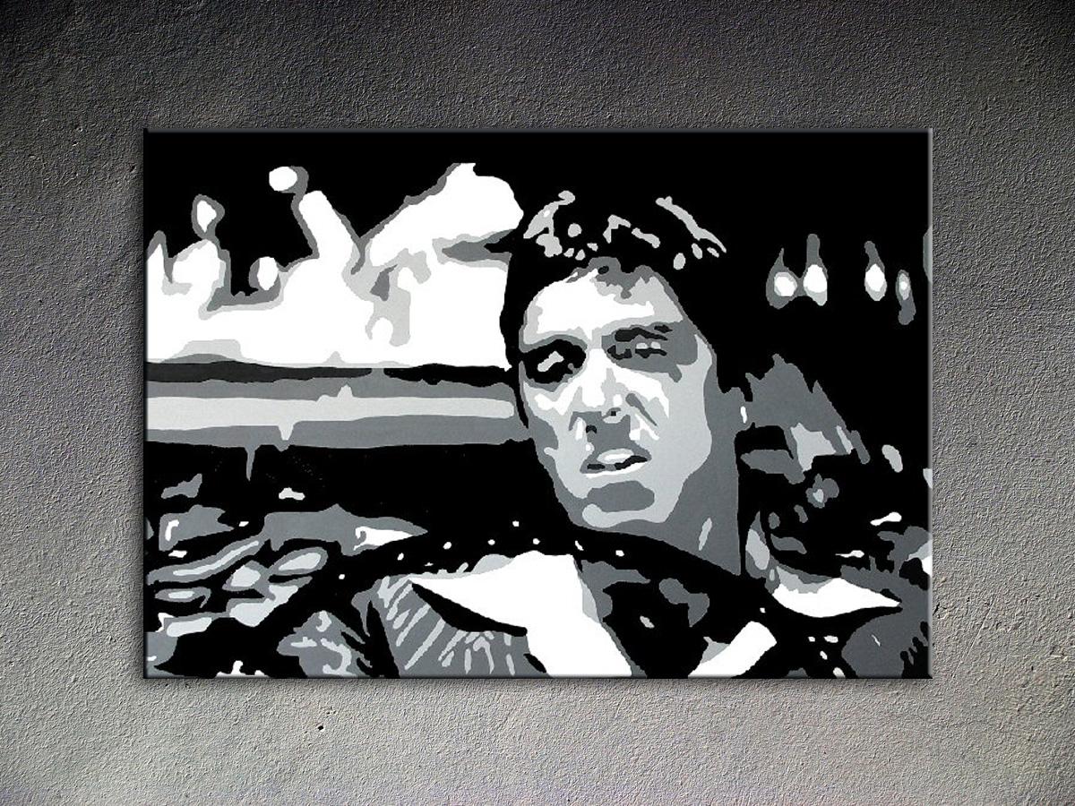 Popart schilderij Al Pacino 6