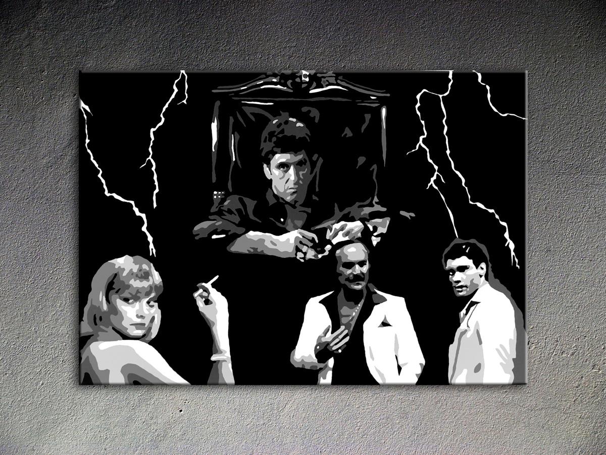 Popart schilderij Al Pacino 7