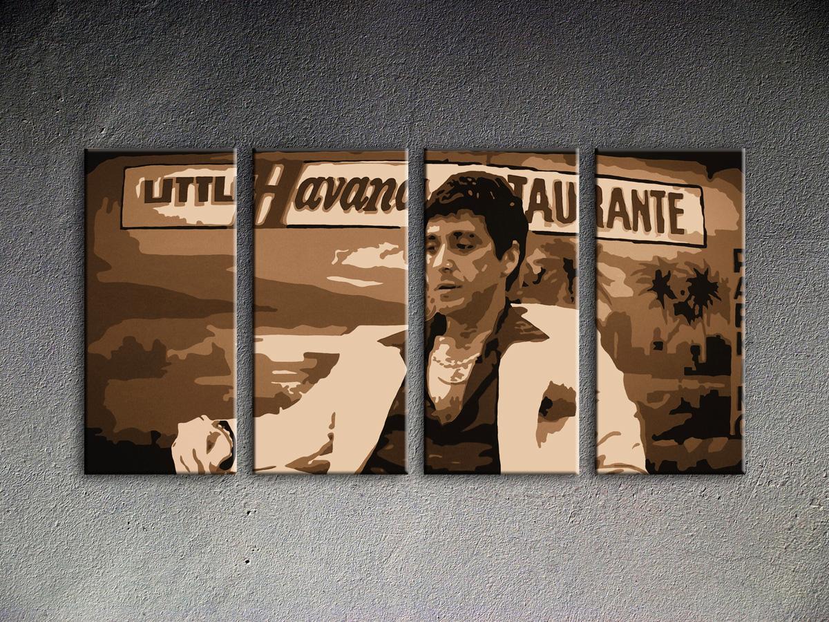 Popart schilderij Havana Al Pacino