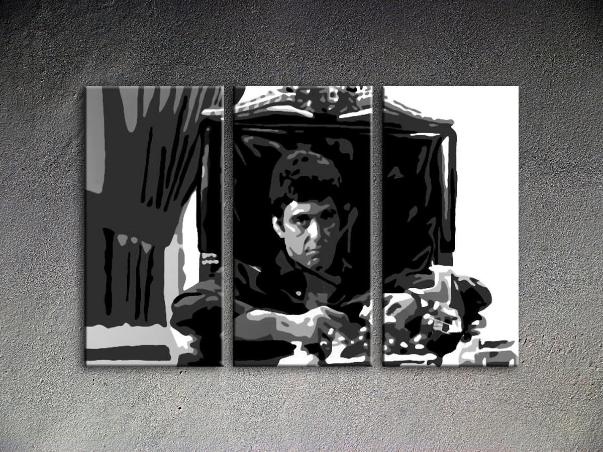 Popart schilderij Al Pacino 9