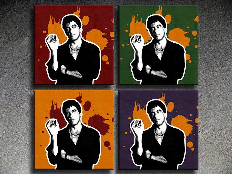Popart schilderij Al Pacino 20