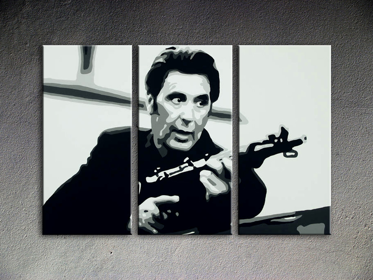 Popart schilderij Al Pacino 22